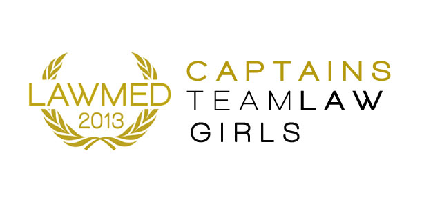 LAWMED 2013: Team Law Captains (Girls)